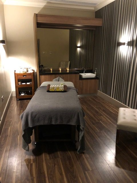 Treatment room Ramside Spa