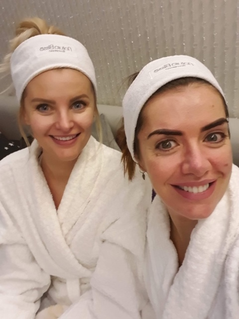 Sam and Lisa at Ramside Spa